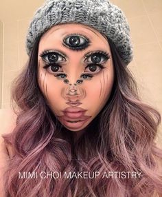 Art Inception Mimi Choi pencil with liquid eyeliners & matte eyeshadows '17