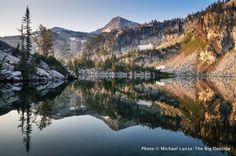 Mirror Lake, Eagle Cap Wilderness, Oregon.