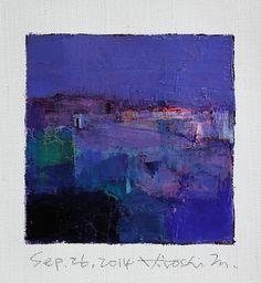 Sep. 26 2014  Original Abstract Oil Painting  by hiroshimatsumoto