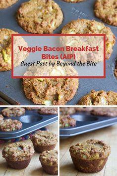 Veggie Bacon Breakfast Bites Featuring Anti-Grain flour (AIP)