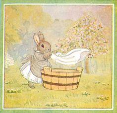 Little Grey Rabbit Wash Day