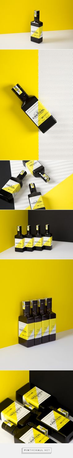 El Cantizal Extra Virgin Olive Oil Packaging by Alice Pesenti | Fivestar Branding Agency – Design and Branding Agency & Curated Inspiration Gallery
