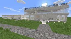 Orphea2012 Youtube et Minecraft: Exclusivité Minecraft | Maisons modernes sur ma ma...