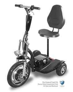 Personal electric vehicles - 3 wheel electric scooters for . Electric Scooter With Seat, Electric Trike, Electric Motor, Electric Cars, Electric Vehicle, 3 Wheel Electric Bike, 3 Wheel Scooter, Scooter Girl, Trike Scooter