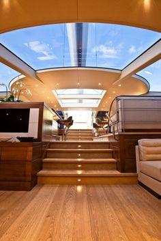 Inside Luxury Yachts | Luxury Yacht Charter SALPERTON IV - Saloon - Fitzroy Yachts, Nz ...
