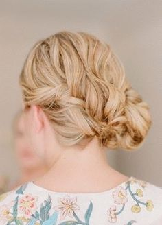 This twisted updo is perfect for any Sunday stroll.