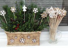 Diy Christmas, Xmas, Planter Pots, Ceramics, Ceramica, Pottery, Christmas, Navidad, Noel