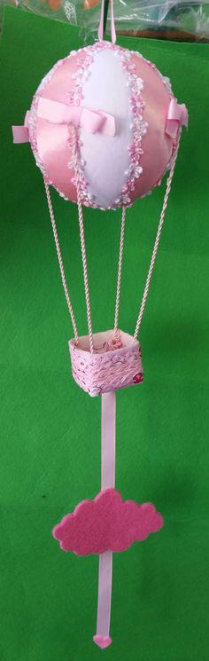 Fiocco nascita mongolfiera handmade personalizzata con nome : Altro bebè di malibu-baby-handmade