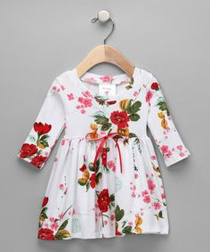 White Vintage Dress - Infant & Toddler