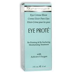 PHARMAGEL Eye Prote - 0.5oz by Pharmagel. $27.81. PHARMAGEL EYE PROTE, a natural recipe of pharmaceutical and medically tested ingredients that reverses the damages of time; wrinkles, puffiness, dark circles, lost tone and elasticity around the delicate eye area. The delicate skin around the eye needs a strong protective shield that is delivered by EYE PROTE. The collagen fibers surrounding the eye are more susceptible to wrinkles, poor circulation and fatigue. EYE PROTE contain...