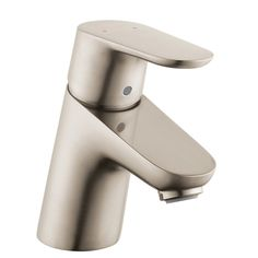 Hansgrohe 04370000 Chrome Focus Bathroom Faucet Single Hole Faucet with Lever Handle