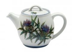 Beautiful...Thistle Teapot from Highland Stoneware  £82.50
