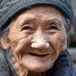 Chinese vrouw, foto: Nico Kloek (Enschede)