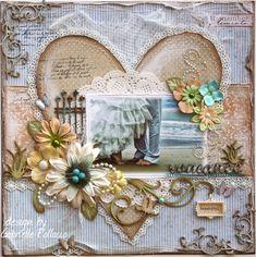 Romance **MAJA DESIGN Team** & Making Trinkets!! - Scrapbook.com (Vintage Spring Basics, Fika and A Walk In the Forest).