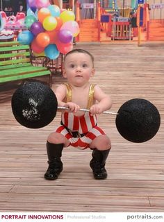 Pics For > Strongest Baby In The World