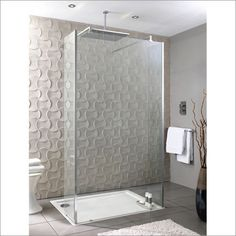Playtime walk-through shower with side screen 1000