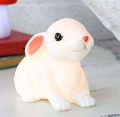 Kids Baby Bunny Night Light Woodland Rabbit / Nursery Lamp / Childrens Bedroom in Baby, Nursery Décor, Lamps, Lights   eBay!