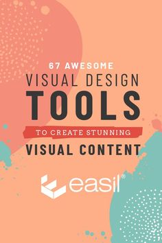 67 Awesome Visual Design Tools to Create Stunning Visual Content #visualcontent #visualdesign #designtools #DIYDesign #GIFs Content Tools, Blog Design, Graphic Design Tips, Graphic Design Inspiration, Web Design Tools, Design Websites, Design Tutorials, Visual Communication Design, Instructional Design