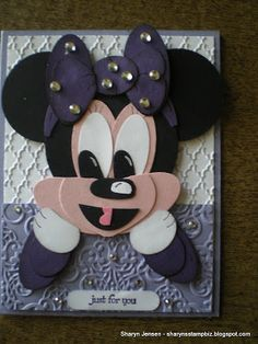 Another  Minnie - this time in purple