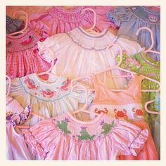 Beautiful Smocked Baby Dresses These should never go out of fashion!