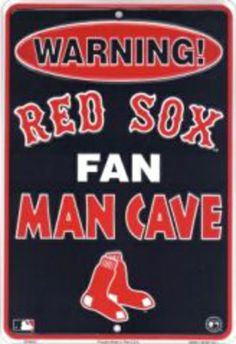 Boston Red Sox Fan Man Cave