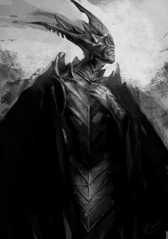 the mouth of Sauron by anastasiyacemetery.deviantart.com on @deviantART Tolkien Hobbit, The Hobbit, Lotr, Dark Fantasy, Fantasy Art, Fantasy Creatures, Middle Earth, Fictional World, Terre