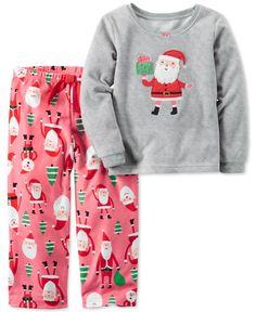 Carter's 2-Pc. Santa Pajama Set, Little Girls (2-6X) & Big Girls (7-16)
