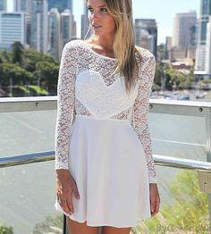 Heiß Verkauf Rückenfreies Spitze Volant-Kleid only $23.99 in ByGoods.com!