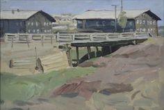Мост.  ERMOLIN REM NIKOLAYEVICH (1926, LENINGRADO - 2004, SYKTYVKAR).