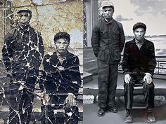 Baojun Yuan, a 76 year-old Chinese man restores photos in Photoshop for people for free. He has already done over 2,000!