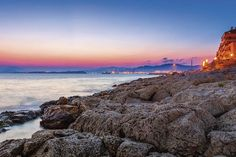 A port-city with a fascinating and ancient history. Wonder around Piraeus and discover its unforgettable charming corners. Ancient Beauty, Orange And Purple, Ancient History, The Rock, Greek, Coast, Shades, Romantic, City