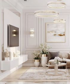 Classy Living Room, Decor Home Living Room, Living Room Modern, Interior Design Living Room, Beige Living Rooms, Luxury Interior Design, Living Room Inspiration, Home Decor Inspiration, Decor Ideas