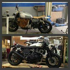 I WAS I AM Honda CB650 Seven fifty by Aniba Motorcycles