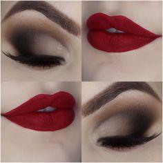 Tutorial – maquiagem opaca com efeito profissional para o Natal
