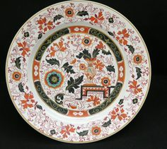 "Beautiful vintage c1850-1900 Ashworth's Ironstone Imari 9⅜"" plate, shallow bowl"