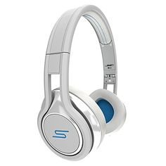 SMS Audio Street by 50 Cent Wired On-Ear Headphones - White