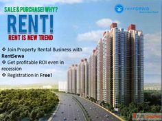Participate in property rental business in India by RentSewa, the mega online platform of rental business and earn handsome money. This is the best way to beat the recession.