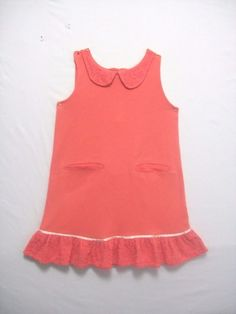 52053d882 HANNA ANDERSSON GIRLS SIZE 120 RED CHRISTMAS HOLIDAY DRESS LONG ...