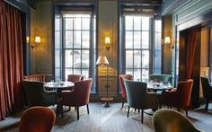 Inside Dean Street Townhouse. Fabulously written article. I'll dine here myself someday.