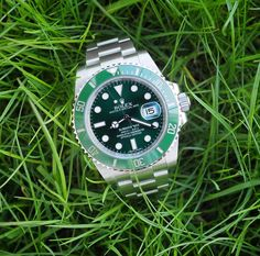 Different shades of green  by watchdanny #rolex #submariner