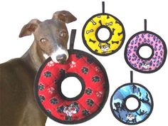 These dog toy rings are nearly indestructible for strong chewers. Dog Chew Toys, Pet Toys, Tough Dog Toys, Durable Dog Toys, Designer Dog Clothes, Toy Puppies, Interactive Toys, Dog Carrier, Dog Supplies