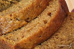 Pumpkin Bread Sous Vide Makes 3 mini loaves (about 15 to 18 slices) or mini Bundts INGREDIENTS 2 cups g) sous vide cooked pumpkin puree (or canned pumpkin) 4 eggs . Best Pumpkin Bread Recipe, Moist Pumpkin Bread, Pumpkin Loaf, Basic Sweet Bread Recipe, Pumpkin Cakes, Apple Cakes, Canned Pumpkin, Pumpkin Puree, Sugar Pumpkin