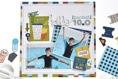 Bella Blvd Alex Collection | Hello Perfect 10.0 Layout by Amy Heller