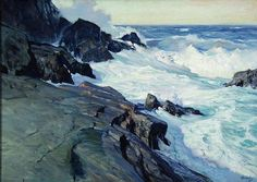 Frederick Judd Waugh, posted on Stapleton Kearns: Seascape