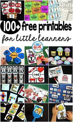 Teaching is hard and finding a balance between planning for your little learners and your life outside the classroom can be difficult. Hopefully this extensive list of free teacher resources will help you find engaging materials for your classroom. First Grade Freebies, Kindergarten Freebies, Kindergarten Classroom, Kindergarten Poetry, Montessori Elementary, Classroom Games, Preschool Printables, Preschool Activities, Free Printables