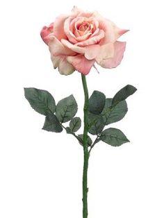 "Autumn soft  FSR367    26"" Diana Rose Spray"
