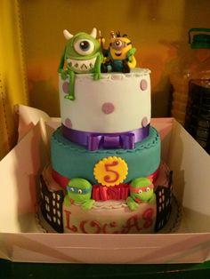 Adorable kids cake