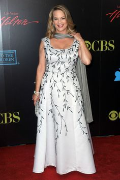 Leann Hunley Aktorka Leann Hunley przybywa na 37. Roczne Nagrody Daytime Emmy rozrywkowych odbywających sie w Las Vegas Hilton w dniu 27 CZE ...