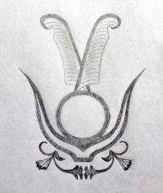 Egyptian Sacred Tattoo Design