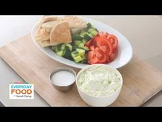 Take a look! I was the first guest on the Everyday Food Video Series with Sarah Carey. We made tzatziki!